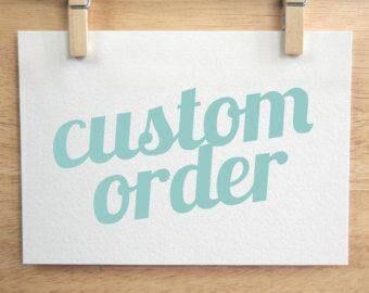 Custom Order link,Blue Lips patch
