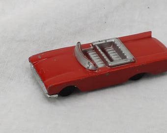 HO Tootsietoy Sunliner, Vintage Tootsietoy Ford Sunliner, HO Tootsietoy Series, Vintage diecast car