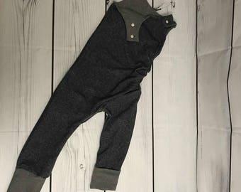 Romper 3T - 6T FAUX JEANS (snap crotch)