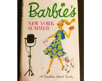 Barbie's New York Summer By Cynthia Lawrence Hardcover Chapter Book