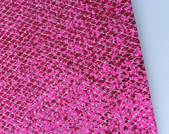 Glitter h pink vinyl