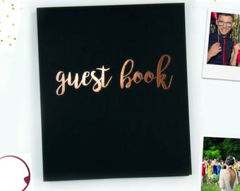 """Fast Shipping> Polaroid Guest Book Instax Guest Book Wedding Alternative Wedding Guest Book Instax Photo Guestbook Flatlay Softcover 8.5""""x7"""""""