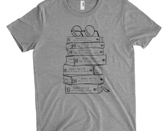 Harry Potter Book Lovers, Stack of Books T-Shirt, Book series