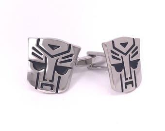 Optimus Prime Transformers Cufflinks
