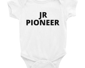 JW BABYSHOWER GIFT | Onesie | Junior Pioneer | baby | Gift | jehovah's witness