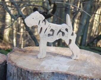 Welsh terrier jigsaw, Welsh terrier puzzle, Welsh terrier ornament,  Welsh terrier gift, Welsh terrier memorial,