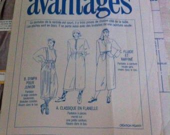 advantage pattern pants Capri pants pattern