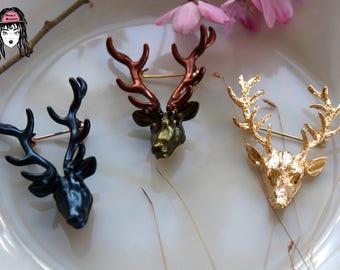 Deer Brooches