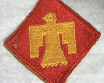 U.S. Army WWII Infantry Division Patch. Nice Memorabilla