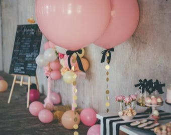 Jumbo Balloon - PINK BALLOON - giant balloon - baby shower - wedding decorations - party supplies - bridal shower - birthday party