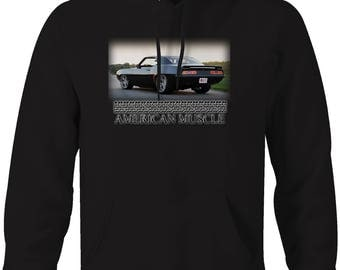American Muscle Custom Modified Chevy Dodge Ford Classic Hooded Sweatshirt- 5060