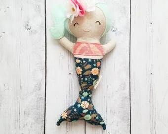 Harlow - Handmade Mermaid Doll (Small)