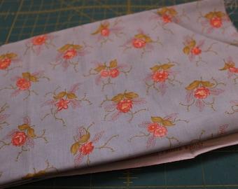 1 /2 yard fig tree blue buttercup Moda fabric