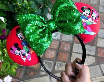 Winter Fun Christmas Mouse Ears