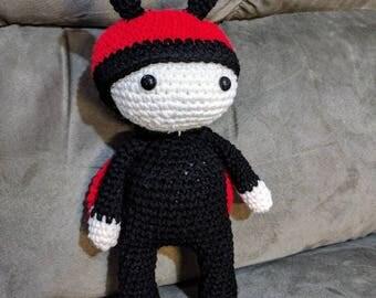 Ladybug Costumed Amiugumi Plush