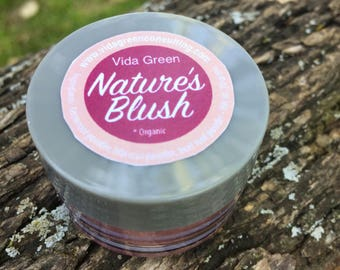 Natural Blush | Organic Cheek Color | Organic Blush | Vegan Blush | Natural Cosmetics | Organic Makeup | Vegan Makeup | Natural Beauty