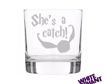 Harry Potter - She's a Catch Tumbler/High-Ball/Pint Glass