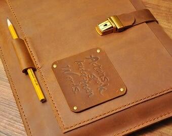 Personalized Leather laptop sleeve,Leather case, Macbook case, 13 inch laptop case, Macbook Air case 13, Macbook Pro 15  13  12  11 sleeve