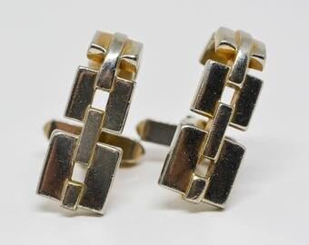 Swank Gold tone cuff links