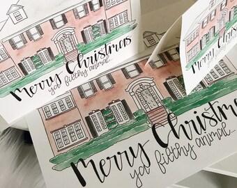 Merry Christmas, ya filthy animal - Christmas Card