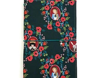Fabric Fauxdori Rifle Paper Co Fauxdori Fabric Travelers Notebook Notebook Cover Fabric Midori Faux dori Rifle Paper Fauxdori Journal IDA