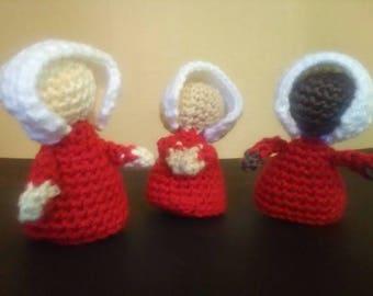 The Handmaid's Tale Handmaid / Handmaid's Tale Fan Gift / Bookworm Gift / Handmaid Doll