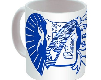 Phi Beta Sigma Crest Coffee Mug