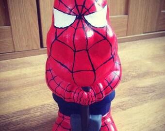 Custom Spiderman Gnome