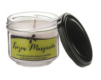 Margarita candle, cocktail candle, margarita, soy wax candle, lime candle, cocktail gift, scented candle, cocktail lovers gift, gift for her