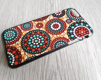 AFROOPRINTS. African Wax XI print iPhone case