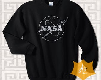 Nasa Shirt Nasa T-Shirt Nasa Sweatshirt Nasa Tshirt Nasa Space Center Sweatshirt LA00x