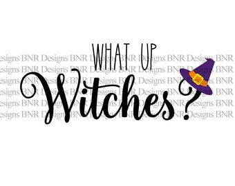 Witch SVG, Halloween SVG, DXF File, Vinyl Svg File, Cricut File, Cameo File, Silhouette File