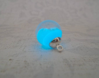 Magic Pendant - Forest Pendant - Mystic Pendant - Will-o'-the-wisp Orb Pendant - Woodland Orb - Glow in the Dark - Change its Color