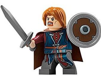Boromir Custom figurine 100 % Compatible Lego! Seigneur des anneaux