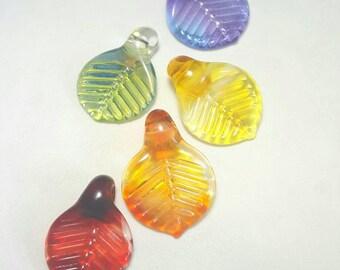 Glass Pendant, Glass Art Pendant, Glass Pendant Necklace, Blown Glass Pendant Jewelry, Glass Art Jewelry, Glass Art Necklace