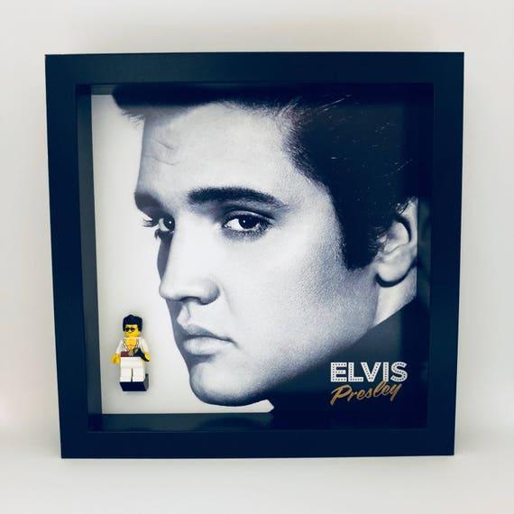 Elvis Presley Minifigure Frame