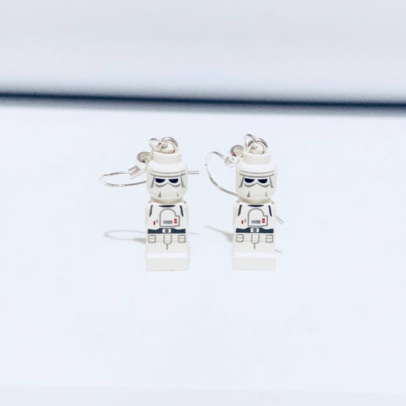 Star Wars Stormtrooper Dropdown Earrings