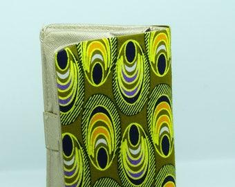 beautiful African wax type wallet