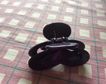 Purple hair clip
