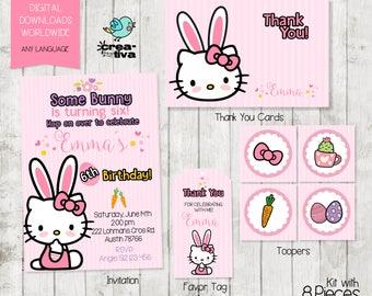Hello Party Package  /Hello Party / Hello / Hello K!/ Kitty Bunny