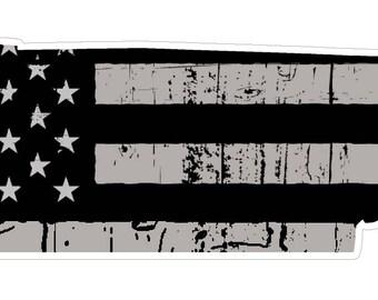 Tennessee State (N43) Distressed Flag Vinyl Decal Sticker Car/Truck Laptop/Netbook Window