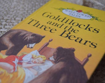 Goldilocks and the Three Bears. A Vintage Ladybird Book. Well Loved Tales. Series 606D. 1981