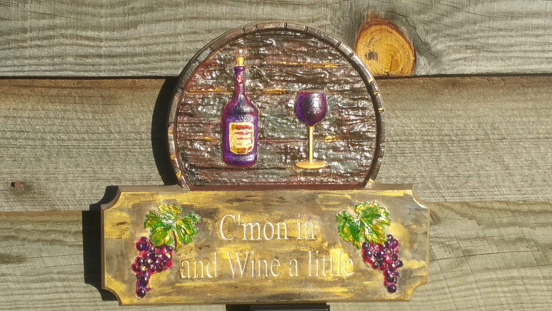 Wine sign kitchen decor kitchen sign wine decor wine glass wine wine sign kitchen decor kitchen sign wine decor wine glass wine bottle wine wall art amipublicfo Gallery