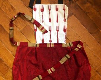 Fork Towel Apron