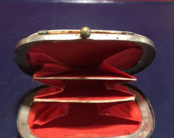 Victorian Mother of Pearl Coin Purse