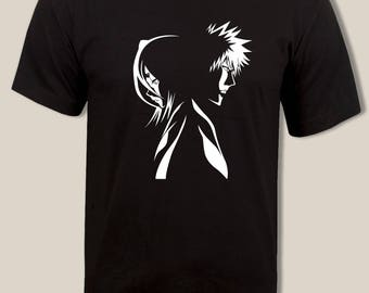 Ichigo and Rukia t shirt, Bleach tee, For Men and Women