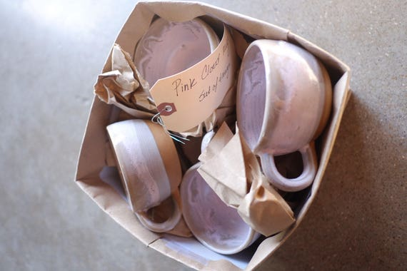 Pink Fog Cappuccino Mug Set of Four
