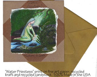 Priestess Series - Wild Ozark Nature Note Cards