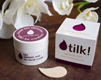Tilk! Spoon Me for Night. Night Cream. Natural Night Cream. Organic Night Cream