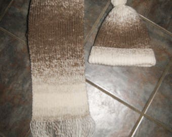 Cloud Walking Scarf and/or Hat